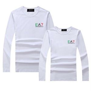 エンポリオアルマーニ EMPORIO ARMANI EA7 Tシャツ 長袖 ロンT丸ネック ロゴプリント