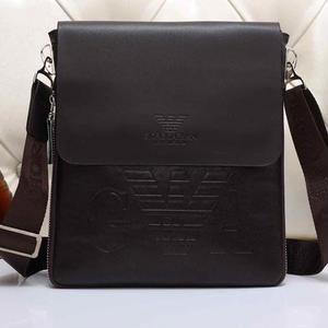 人気 エンポリオアルマーニ EMPORIO ARMANI ロゴプリントショルダーバッグ 斜め掛け鞄 カバン 通勤バッグ