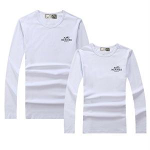 人気新品 エルメス Hermes Tシャツ  長袖 ロンT  メンズ レディース  綿