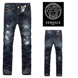 ヴェルサーチ メンズ ジーンズ・デニム ボトムス・パンツ Skinny Fit Jean indigo