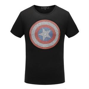 人気新品✩Givenchy ジバンシィ星柄 半袖Tシャツ 男性用トップス  黒 白 半袖