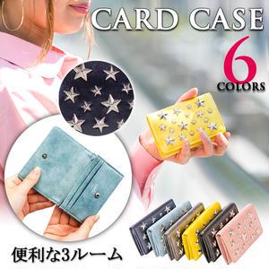pisoraro スタースタッズ使い カードケース