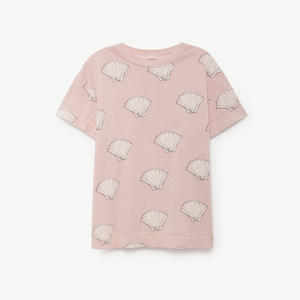 TAO / pink beige Shell Tee
