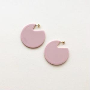 Clare Earrings in Rose