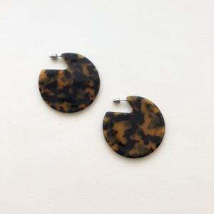 Clare Earrings in Tortoise