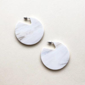 Clare Earrings in Luna