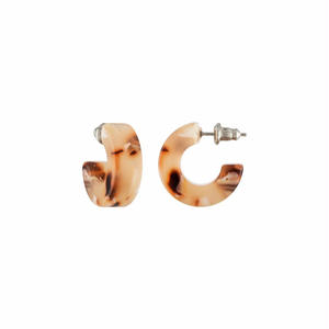 Muse Hoops in Blush