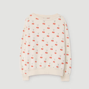 CHERRIES BEAR SWEAT SHIRT/TAO