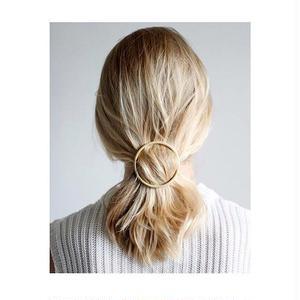 MATTE GOLD HAIR CLIPs
