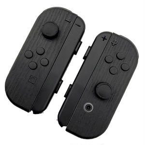 [for Nintendo Switch joycon]Charcoal Wood -skin sticker-
