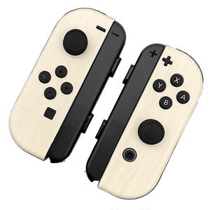 [for Nintendo Switch joycon]Ivory Wood -skin sticker-