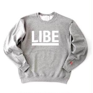 【LIBE BRAND UNIVS.】BIG LOGO CREW SWEAT