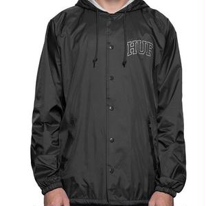 【HUF】ARCH BLOCK HOODED COACH JACKET