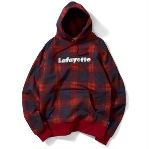 【LAFAYETTE】LOGO PLAID PULLOVER SWEATSHIRT