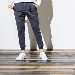 【GRAMICCI】BONDING KNIT FLEECE NARROW RIB PANTS