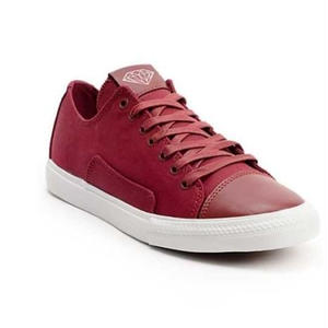 【DIAMOND SUPPLY CO.】BRILLIANT LOW BURGUNDY CANVAS