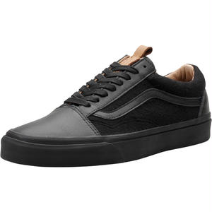 【VANS】OLD SKOOL REISSUE CA LEATHER&WOOL   BLACK/BLACK