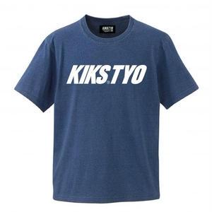 【KIKSTYO】INDIGO LOGO TEE