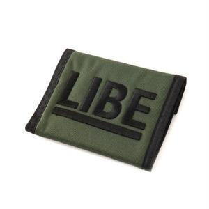 【LIBE BRAND UNIVS.】 BIG LOGO NYLON WALLET
