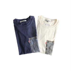 【SKREWZONE】POCKET.POCKETPRINT TEE
