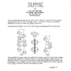 STEVE REICH / DRUMMING (LP)