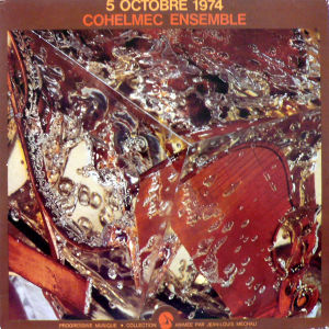 COHELMEC ENSEMBLE / 5 Octobre 1974 (2LP)