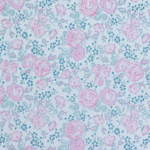 【抱っこひもカバー用】Liberty ビニールコーティング生地   Felicite/フェリシテ (Rose Dragée)