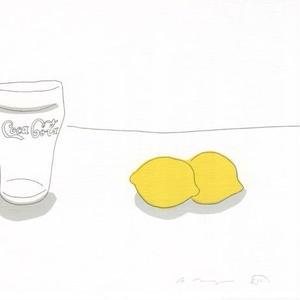 安西水丸 「レモンとコカコーラ」