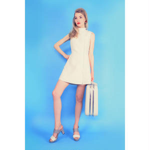 ワンサイドジップドレス