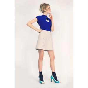 [先行受注商品]グラデーションボタンスカート