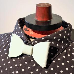 vinyl bow tie -color ver. -