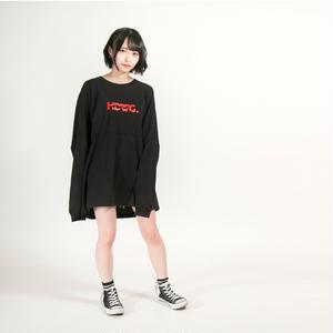 "HEDWiNG ロンT ""Kaminari"" Long Sleeve T-shirt / BLACK"