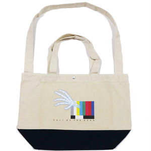 CALL OF THE DEAD TOTE BAG / BEIGE
