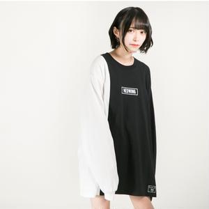 HEDWiNG ロンT Crosscut Longsleeve T-shirt / BLACK