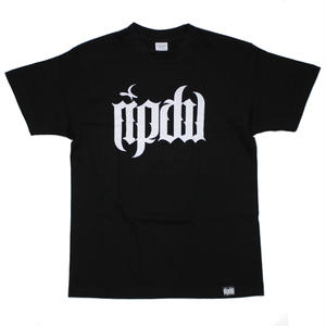 ripdw LOGO T-Shirt / BLACK