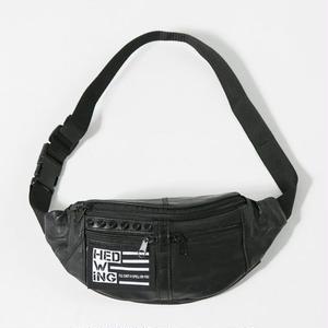 Leather Waist Bag / Blackstuds