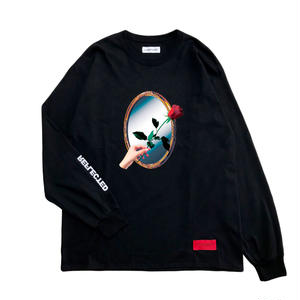 -REFLECTED- L/S TEE / BLACK