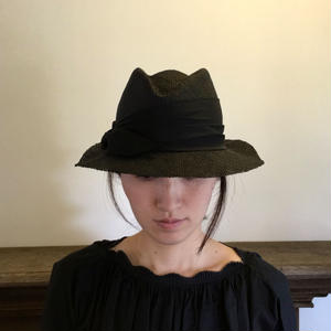 バオソフトハットシルクリボン(Black)58cm