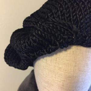 6点限定生産 シルク糸ベレー
