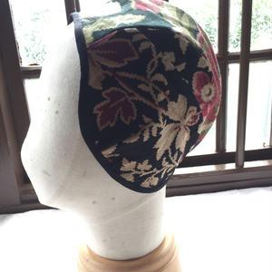 ヴィンテージファブリックフード花柄