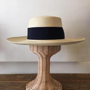 パナマ帽(FLAT TOP)