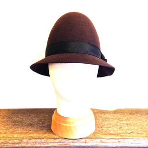 ラビットファーフェルト とんがり帽