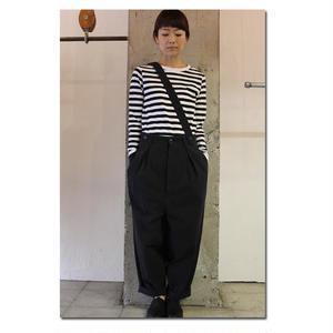 susuri ススリ ベイカーパンツ #ブラック 【送料無料】