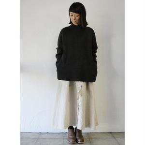 STASTNY SU シュチャストニースー whole garment pullover knit  #アイボリー、ブラウン 【送料無料】