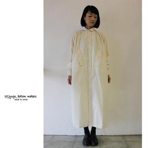 15 jyugo ジュウゴ horse clothギャザーTABIワンピース ♯ナチュラル 【送料無料】