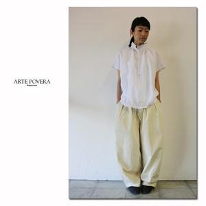 ARTE POVERA アルテポーヴェラ LINENバルーンプルシャツ ♯ホワイト、グリーン、ネイビー 【送料無料】