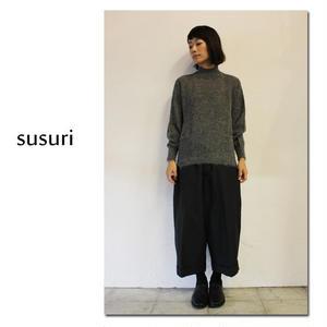 susuri ススリ ジュディーセーター ♯グレー、ブラック 【送料無料】