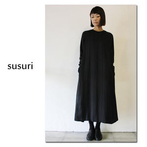 susuri ススリ ミィワンピース ♯peat stripe 【送料無料】