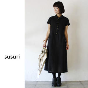 susuri ススリ リングフィンガードレス #black 【送料無料】