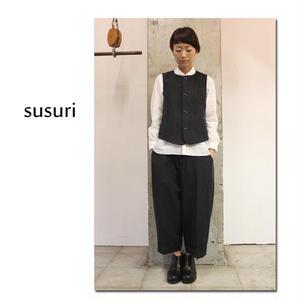 susuri ススリ パブパンツ #チャコール 【送料無料】